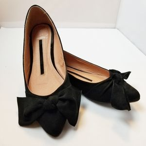 New Directions Callie Pointed Bow Flat